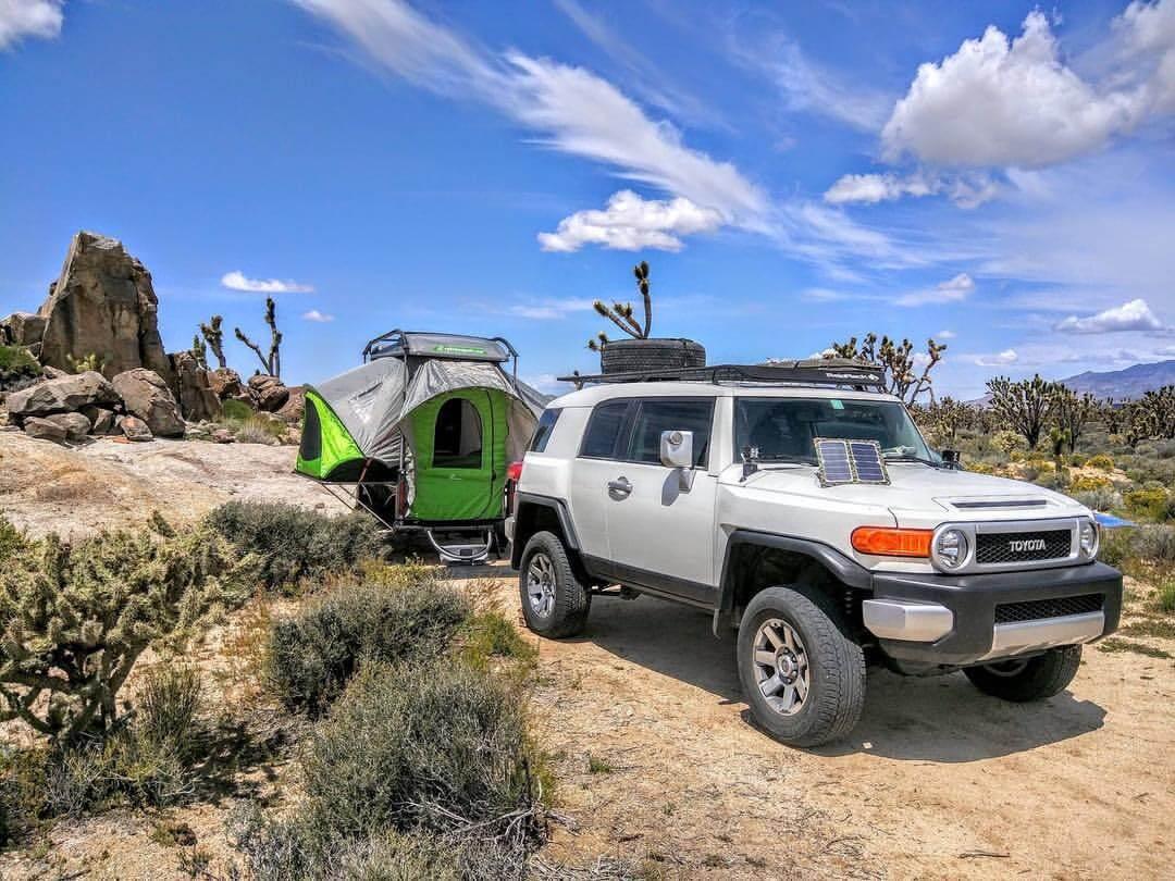 Off road all terrain pop up camper