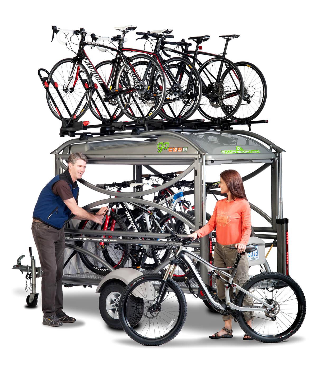 Biking Trailer and Camper
