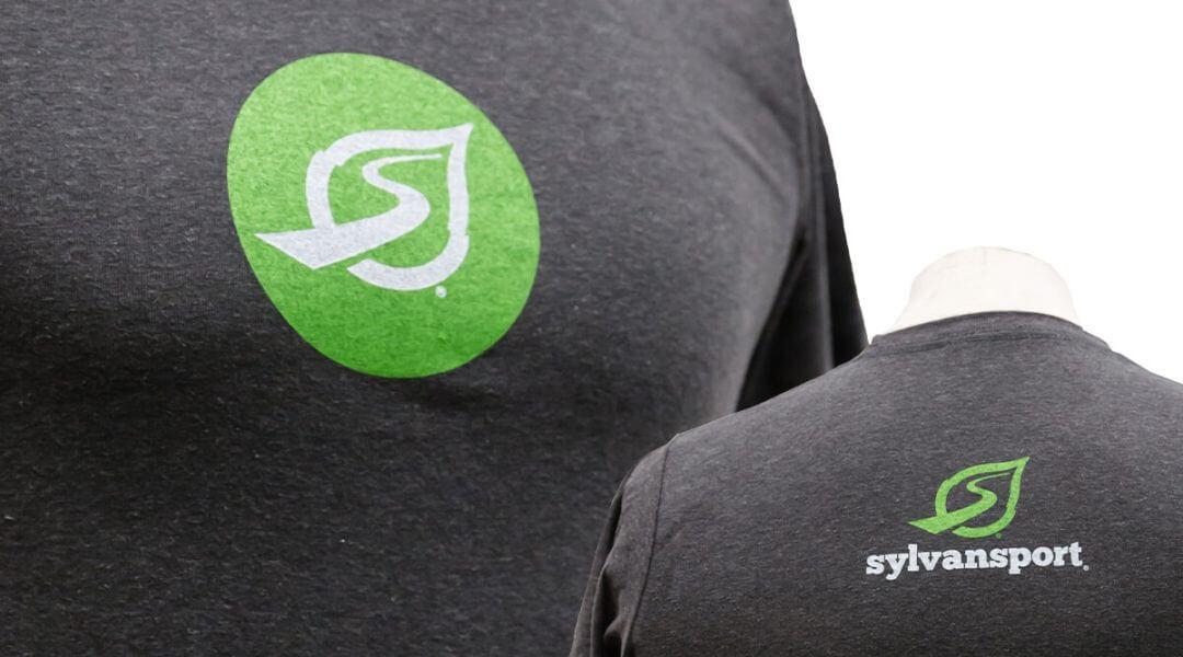 SylvanSport Logo T Shirt Stacked