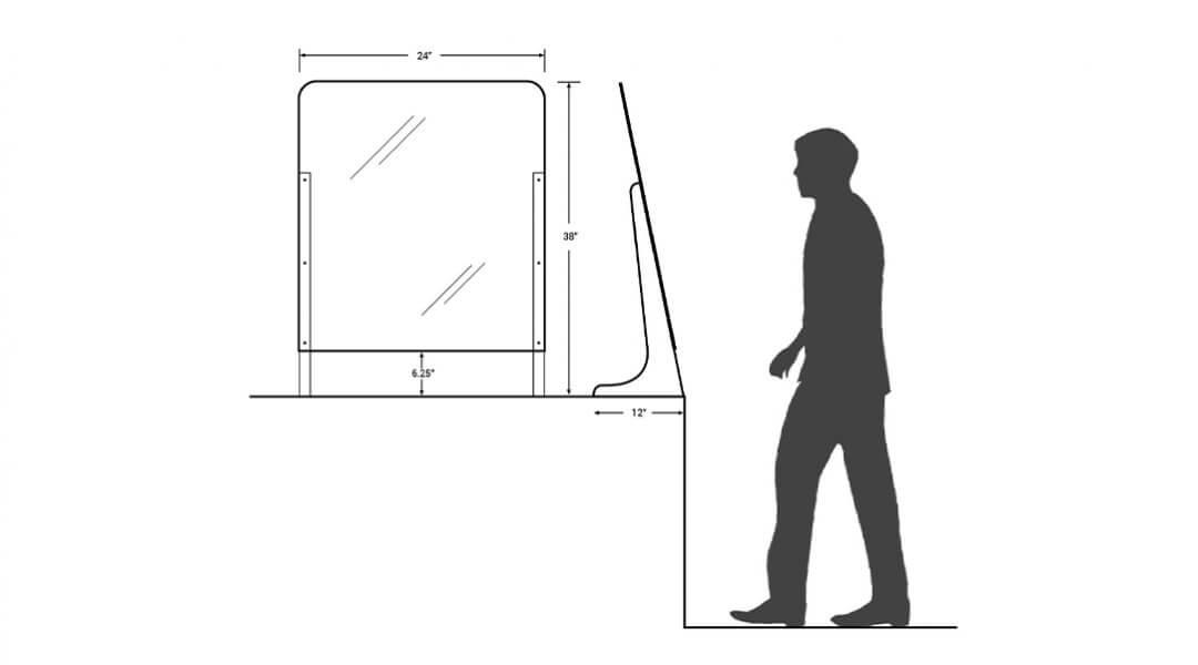 counter-guard-dimensions